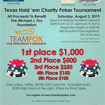 Profile image for Texas Holdem Tournament event.