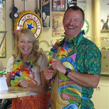 Profile image for Gallaghers' Luau for Parkinson's event.
