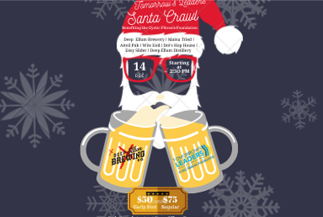 Tomorrow's Leaders Santa Pub Crawl
