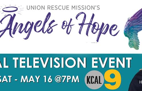 Angels of Hope TV SPECIAL - May 16 @ 7PM on KCAL9