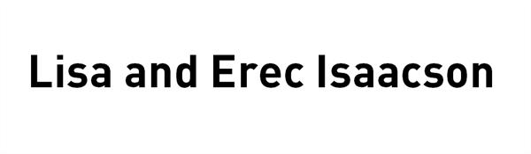 Lisa and Erec Isaacson