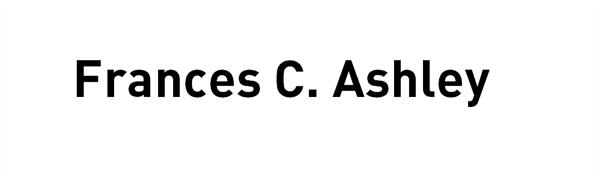 Frances C. Ashley