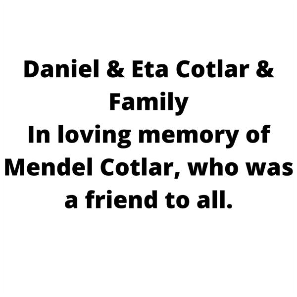 Daniel & Eta Cotlar