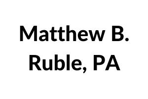 Matthew B. Ruble, PA