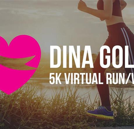 2021 Dina Golas Virtual 5K Run/Walk