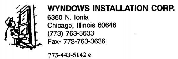 Wyndows Installation Corp.
