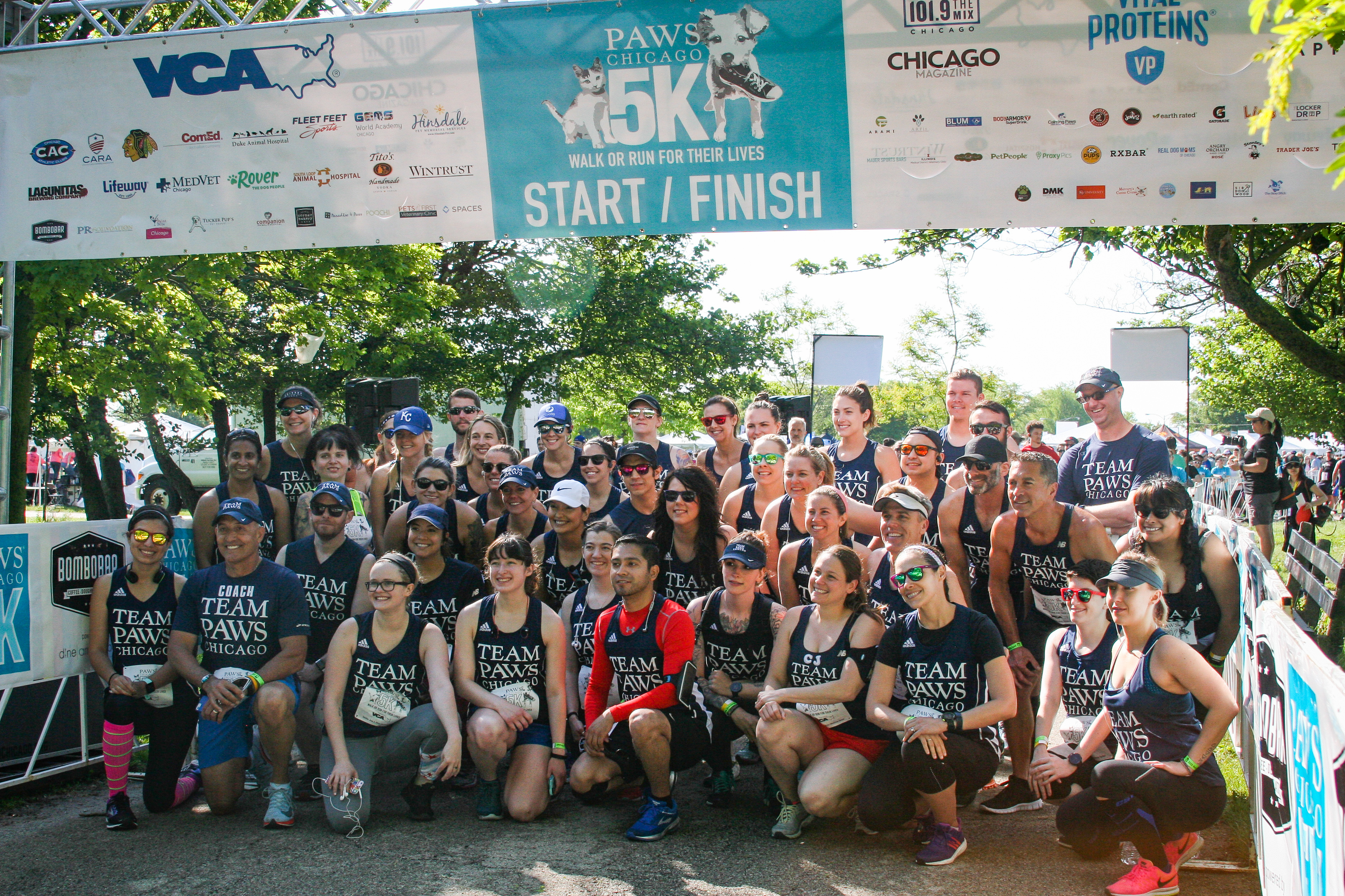 90acb280869d3 FREE Entry into the PAWS Chicago 5K Walk Run All TEAM PAWS Chicago members  ...