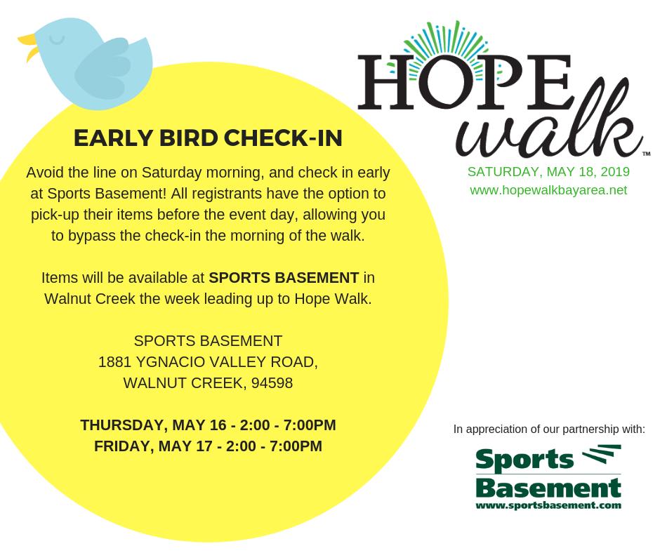 Event Information - 2019 Hope Walk