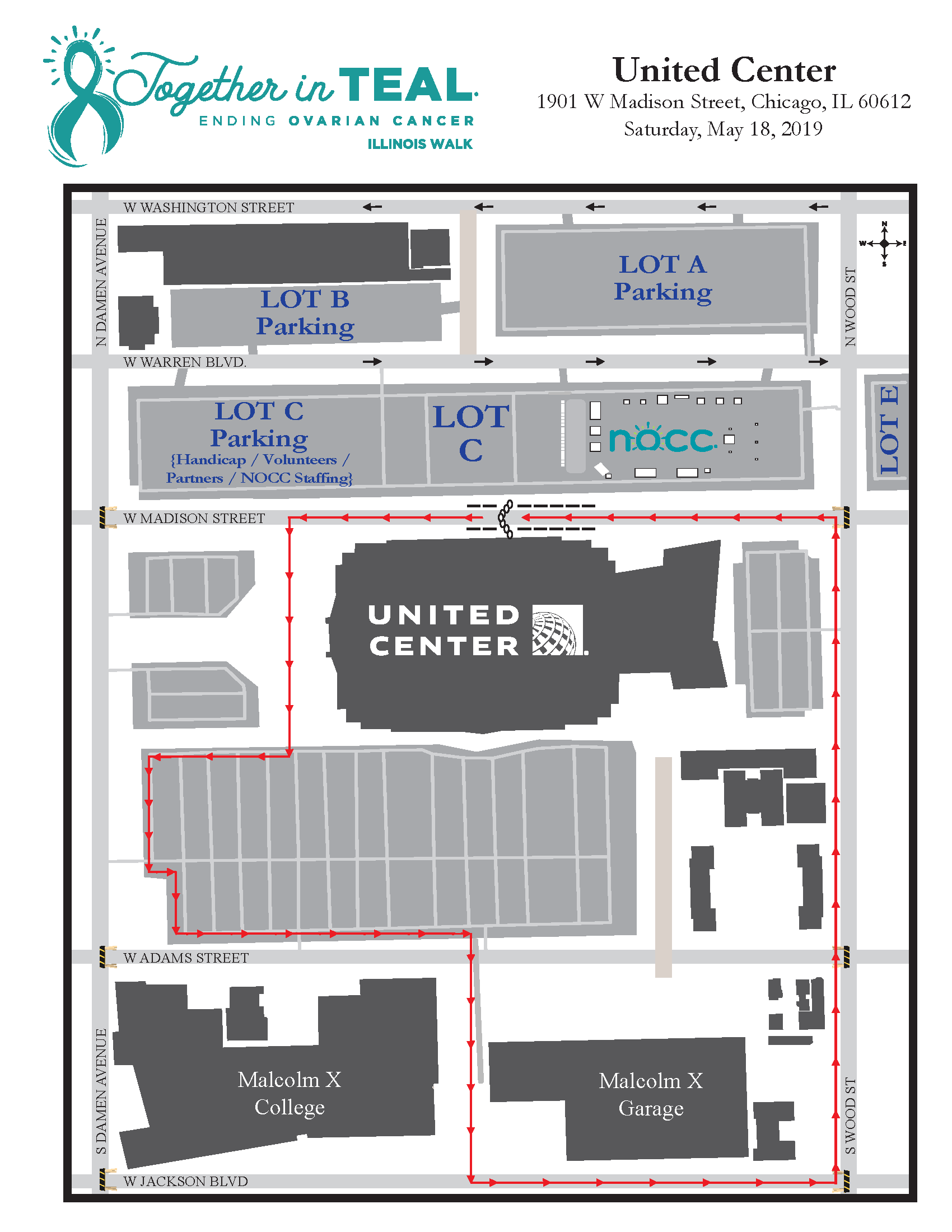Maps and Parking - NOCC - Illinois Walk Chicago Street Parking Map on