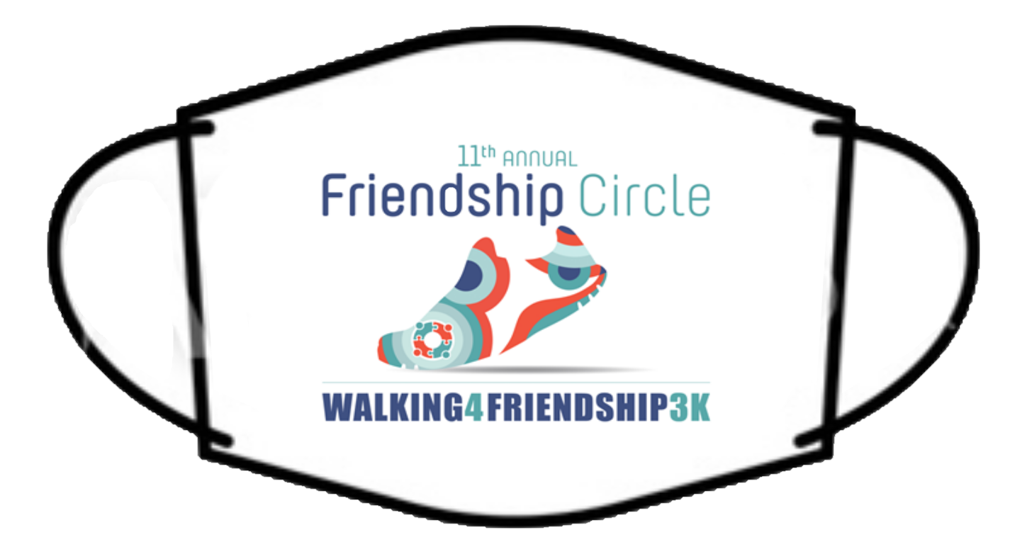 Walking4Friendship Branded Face Mask