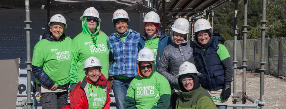 Team Wolfpack at Women Build with Habitat Chicago
