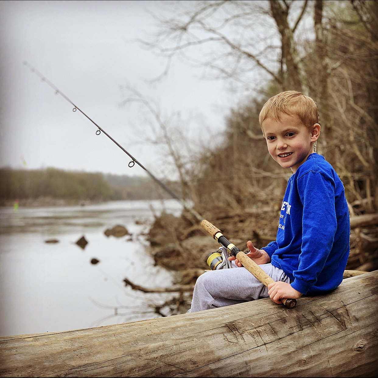 Jack - Fishing along the Potomac
