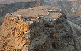 Ariel view of Masada